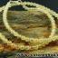 ▽สร้อยคอ ไหมทอง (Rutilated Quartz ) 4 mm. thumbnail 2