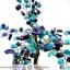 ต้นไม้มงคล ต้นไม้ หินลาพิส ลาซูลี่ Lapis Lazuli ใช้เสริมฮวงจุ้ย โต๊ะทำงาน (642g) thumbnail 7