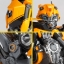 "Legacy OF Revoltech Tokusatsu Revoltech No.LR-50 ""Transformers: Dark Side of the Moon"" Bumblebee(Pre-order) thumbnail 5"