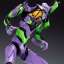 Evangelion: 2.0 You Can (Not) Advance 1/400 General-Purpose Humanoid Battle Weapon Android EVA-01 Test Type Plastic Model(Released) thumbnail 23