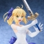 Fate/staynight [Unlimited Blade Works] - Saber White Dress Ver. 1/8 Complete Figure(Pre-order) thumbnail 5