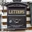 ตู้จดหมายวินเทจ LETTERS เหล็กหล่อ สไตล์ยุโรป thumbnail 1