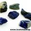 ลาพิส ลาซูลี่ Lapis Lazuli ก้อนธรรมชาติ 6 ชิ้น (110g) thumbnail 2