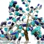 ต้นไม้มงคล ต้นไม้ หินลาพิส ลาซูลี่ Lapis Lazuli ใช้เสริมฮวงจุ้ย โต๊ะทำงาน (642g) thumbnail 8