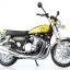 1/12 Complete Motorcycle Model Kawasaki 900Super4(Z1) Yellow Ball(Pre-order) thumbnail 1