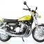 1/12 Complete Motorcycle Model Kawasaki 900Super4(Z1) Yellow Ball(Pre-order) thumbnail 1