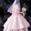 Date A Live - Kurumi Tokisaki Wedding ver. Pink 1/7 Complete Figure(Pre-order) thumbnail 4