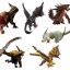 "Capcom Figure Builder ""Monster Hunter"" Standard Model Plus Rage Ver. Kai 6Pack BOX(Pre-order) thumbnail 1"