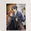 K RETURN OF KINGS - New Illustration B2 Wall Scroll: Saruhiko & Misaki(Pre-order) thumbnail 1