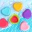 แม่พิมพ์ซิลิโคนถ้วยคัพเค้ก ทำขนม รูปหัวใจ 7 CM thumbnail 2