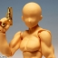 1/12 Realistic Weapon Series - Realistic Handgun (6 Types) Gold Coating ver. Plastic Model(Pre-order) thumbnail 2