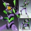 Evangelion: 2.0 You Can - 1/400 General-Purpose Humanoid Battle Weapon EVANGELION Test Type 01 Plastic Model(Pre-order) thumbnail 1