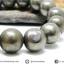 สร้อยหิน ไพไรต์ (Pyrite) 10mm. (19cm) thumbnail 1