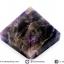 หินทรงพีระมิค-อเมทิสต์ (Amethyst) (105g) thumbnail 1