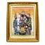 [โปรโมชั่น] ภาพเทพเจ้าฮกลกซิ่ว ทำจากพลอยและหิน (ขนาดรวมกรอบ 41x51 นิ้ว.) thumbnail 2