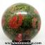 ▽ยูนาไคต์ (Unakite) ทรงบอล หินทรงกลม 7.6 cm thumbnail 3