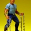 ARTFX+ - MARVEL UNIVERSE Defenders: Luke Cage 1/10 Easy Assembly Kit(Pre-order) thumbnail 3