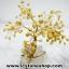 ต้นไม้มงคล หินหยกน้ำผึ้ง+ควอตซ์ ใช้เสริมฮวงจุ้ย โต๊ะทำงาน (527g) thumbnail 8