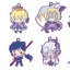 Rubber Mascot - Fate/Grand Order Design produced by Sanrio 8Pack BOX(Pre-order) thumbnail 1