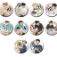 Haikyuu!! - Trading Can Badge (Junbi) 10Pack BOX(Pre-order) thumbnail 1