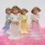 ตุ๊กตาพอร์ซเลน หญิงสาวถือดอกไม้ 4 คน thumbnail 1