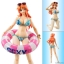 Variable Action Heroes - ONE PIECE: Nami (Summer Vacation) Action Figure(Pre-order) thumbnail 1