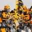 "Legacy OF Revoltech Tokusatsu Revoltech No.LR-50 ""Transformers: Dark Side of the Moon"" Bumblebee(Pre-order) thumbnail 6"
