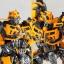 "Legacy OF Revoltech Tokusatsu Revoltech No.LR-50 ""Transformers: Dark Side of the Moon"" Bumblebee(Pre-order) thumbnail 6"