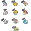 Metal Charm Collection - Digimon Adventure Itsumo Issho dayo! Hen 10Pack BOX(Pre-order) thumbnail 1