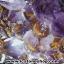 โพรงอเมทิสต์-คาค็อกซิไนท์ ขนาดใหญ่ ร่ำรวย มั่งคั่ง เสริมบารมี ( Amethyst-Cacoxenite Geode) 194KG thumbnail 6