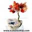 ▽ต้นไม้มงคล หินคาร์เนเลี่ยน-ฐานควอตซ์ ใช้เสริมฮวงจุ้ย โต๊ะทำงาน (150g) thumbnail 6