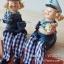 ตุ๊กตาเรซิ่นห้อยขา รูปกะลาสีเรือสองคน (ไซส์เล็ก) - VT0020 thumbnail 1