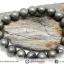 สร้อยหิน ไพไรต์ (Pyrite) 10mm. (19cm) thumbnail 4
