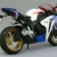 1/12 Complete Motorcycle Model Honda CBR 1000RR (Tri-Color)(Back-order) thumbnail 3