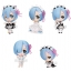 Re:ZERO -Starting Life in Another World- Rem ga Ippai Collection Figure vol.2 6Pack BOX(Pre-order) thumbnail 1