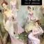 ตุ๊กตาพอร์ซเลนแต่งบ้าน รูปหญิงสาวในชุดราตรีสีชมพู thumbnail 1