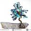 ต้นไม้มงคล ต้นไม้ หินลาพิส ลาซูลี่ Lapis Lazuli ใช้เสริมฮวงจุ้ย โต๊ะทำงาน (642g) thumbnail 5
