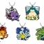 Pokemon - Waza Rubber Mascot 8Pack BOX(Pre-order) thumbnail 1