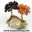 ▽ต้นไม้คู่มงคล หินคาร์เนเลี่ยน-โกเมน-ฐานควอตซ์ ใช้เสริมฮวงจุ้ย โต๊ะทำงาน (214g) thumbnail 3