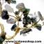 ต้นไม้มงคล หินมอสอาเกต+โกเมน+ควอตซ์ ใช้เสริมฮวงจุ้ย โต๊ะทำงาน (507g) thumbnail 8