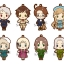 es Series nino Rubber Strap Collection - Hetalia Part.3 Renewal ver. 8Pack BOX(Pre-order) thumbnail 1