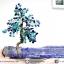 ต้นไม้มงคล ต้นไม้ หินลาพิส ลาซูลี่ Lapis Lazuli ใช้เสริมฮวงจุ้ย โต๊ะทำงาน (642g) thumbnail 1