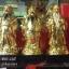 ของมงคลแต่งบ้านเรซิ่น ชุด 3 เซียน เทพเจ้าฮก ลก ซิ่ว สีทอง thumbnail 1