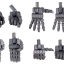 M.S.G Modeling Support Goods - Hand Unit Wild Hand 2(Pre-order) thumbnail 1