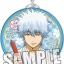 Gintama - Trading Tsunagaru Can Badge Charm 10Pack BOX(Pre-order) thumbnail 3
