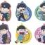 Osomatsu-san - Rubber Coaster -Hataraku Mutsugo- 7Pack BOX(Pre-order) thumbnail 1