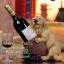 ตุ๊กตาสุนัขเรซิ่น ที่วางขวดไวน์น่ารักๆ thumbnail 1