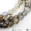 สร้อยคอ ลาบราดอไลท์ (Labradorite) เกรด A-5.5mm. thumbnail 5