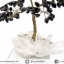 ต้นไม้มงคล หินออบซิเดียน ฐานควอตซ์ ใช้เสริมฮวงจุ้ย โต๊ะทำงาน (350g) thumbnail 8