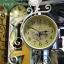 นาฬิกาวินเทจติดผนัง สีขาว รูปไก่ มี 2 หน้าปัด thumbnail 1